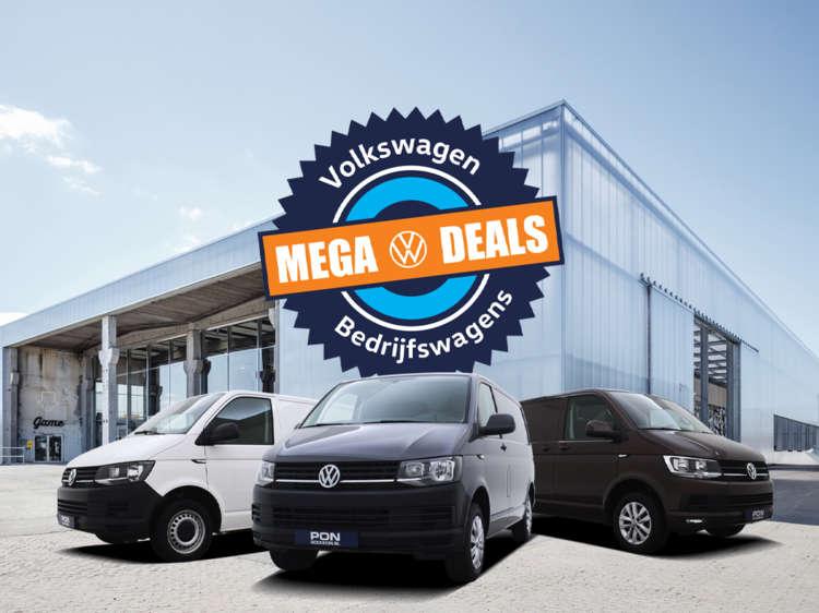Volkswagen Transporter Mega Deals bij Pon Occasion