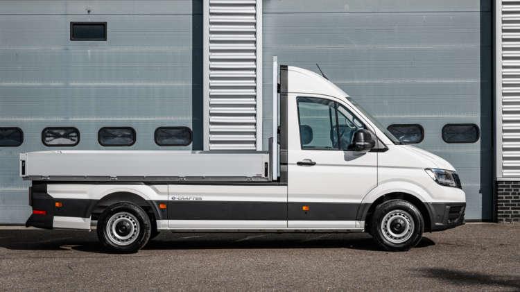 Volkswagen e-Crafter nu ook als Pick-up en Kipper - 3