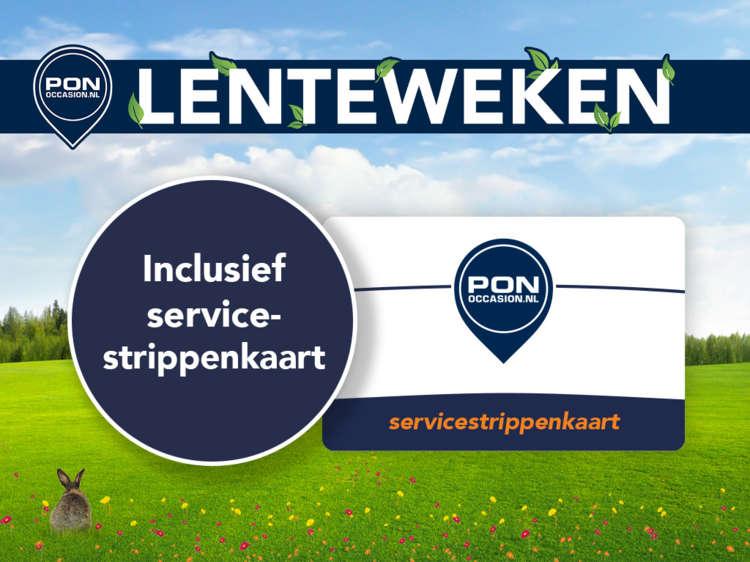 Pon Occasion Lenteweken - BLOK - Inclusief servicestrippenkaart