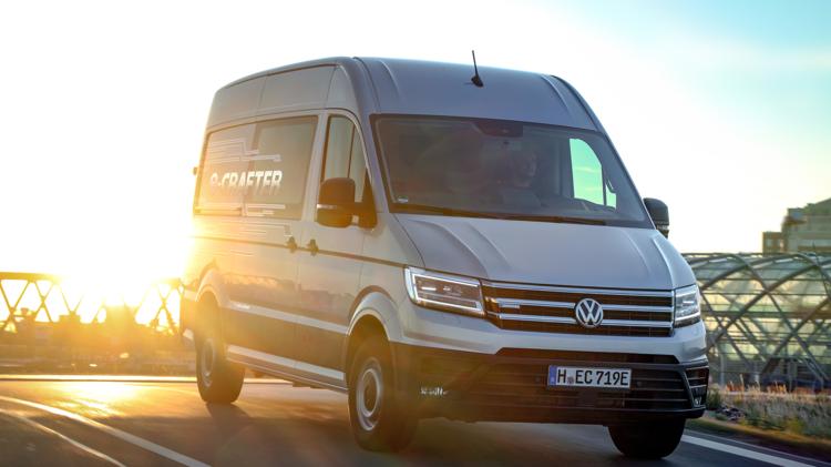 Volkswagen e-Crafter nu leverbaar vanaf € 49.950 inclusief duurzaamheidspremie. 1
