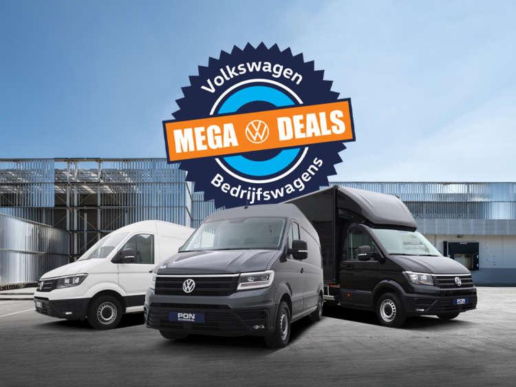 Volkswagen Crafter Mega Deals bij Pon Occasion - Blok