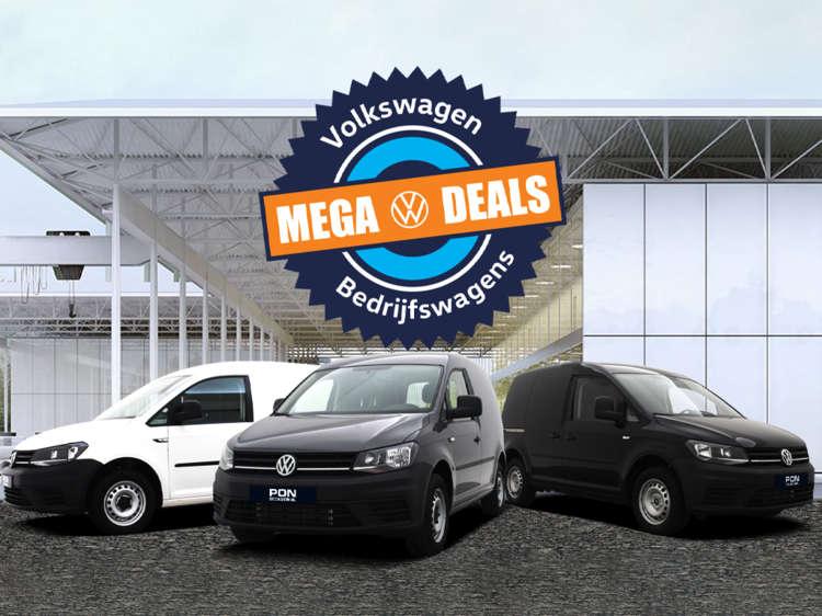 Volkswagen Caddy Mega Deals bij Pon Occasion - Blok