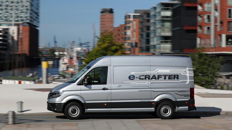 Volkswagen e-Crafter nu leverbaar vanaf € 49.950 inclusief duurzaamheidspremie. 5