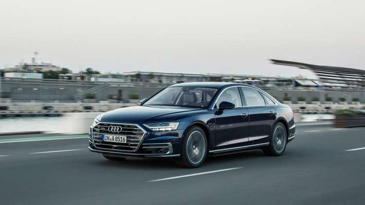 Uit de startblokken Audi S8 en A8 met V8-power 5