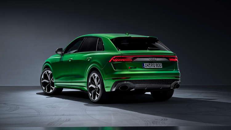 RS Q8 powerhouse van Audi Sport 4