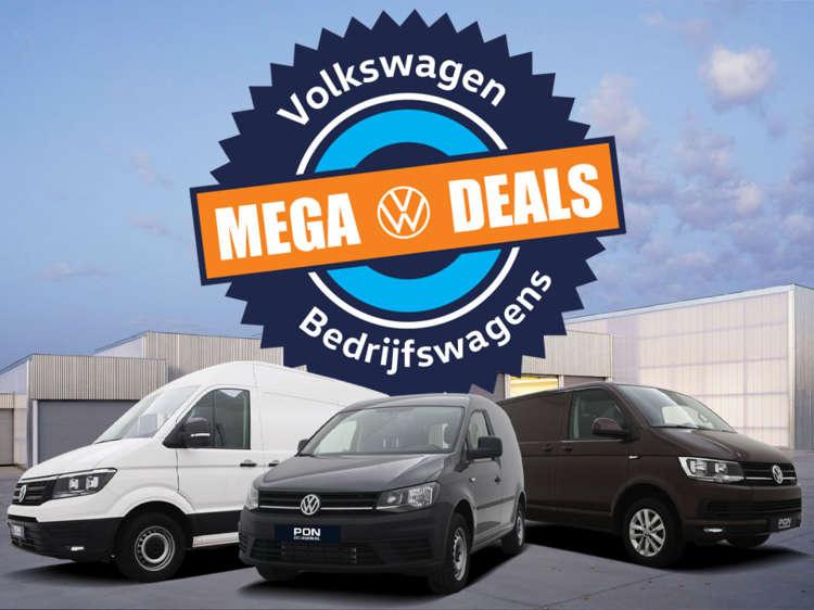 Volkswagen Bedrijfswagens Mega Deals bij Pon Occasion - Blok