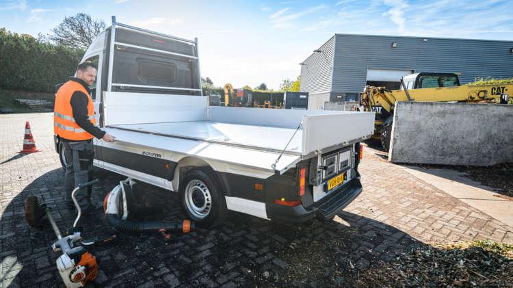 Volkswagen e-Crafter nu ook als Pick-up en Kipper - 6