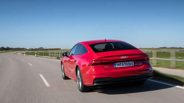 Audi prijst plug-in A7 Sportback 10