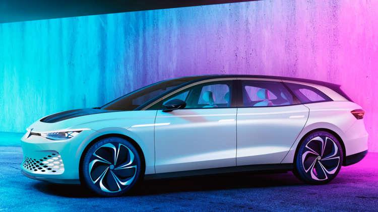 Volkswagen trekt doek van ID. SPACE VIZZION 3