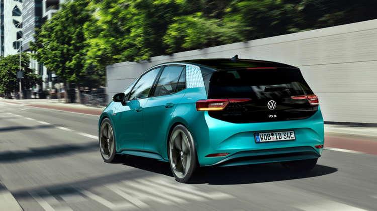 De Volkswagen ID.3 laat van zich horen 6