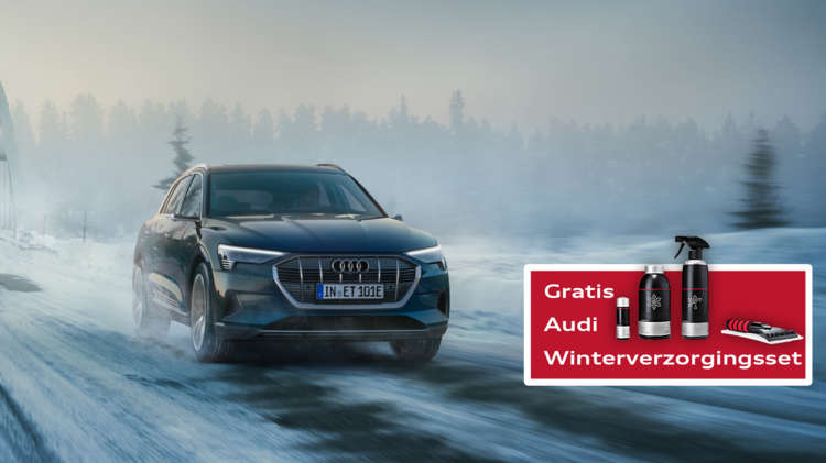 Audi Wintercheck hoofdvisual - winterthema