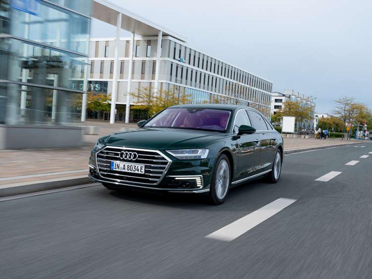 Audi A8 plug-in hybrid 4
