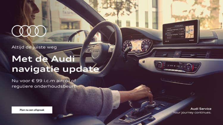 Audi Navigatie Upfdate - Voorjaarsacties 2021