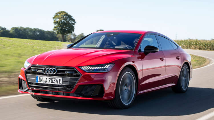 Audi prijst plug-in A7 Sportback 8