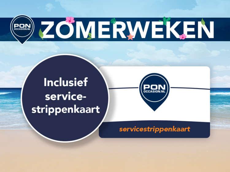 Pon Occasion Zomerweken - Actieblok 3 - Inclusief Servicestrippenkaart