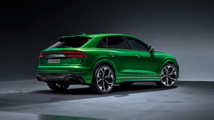 RS Q8 powerhouse van Audi Sport 5