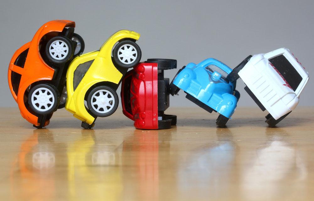 Wzrost składki po spowodowaniu wypadku samochodowego