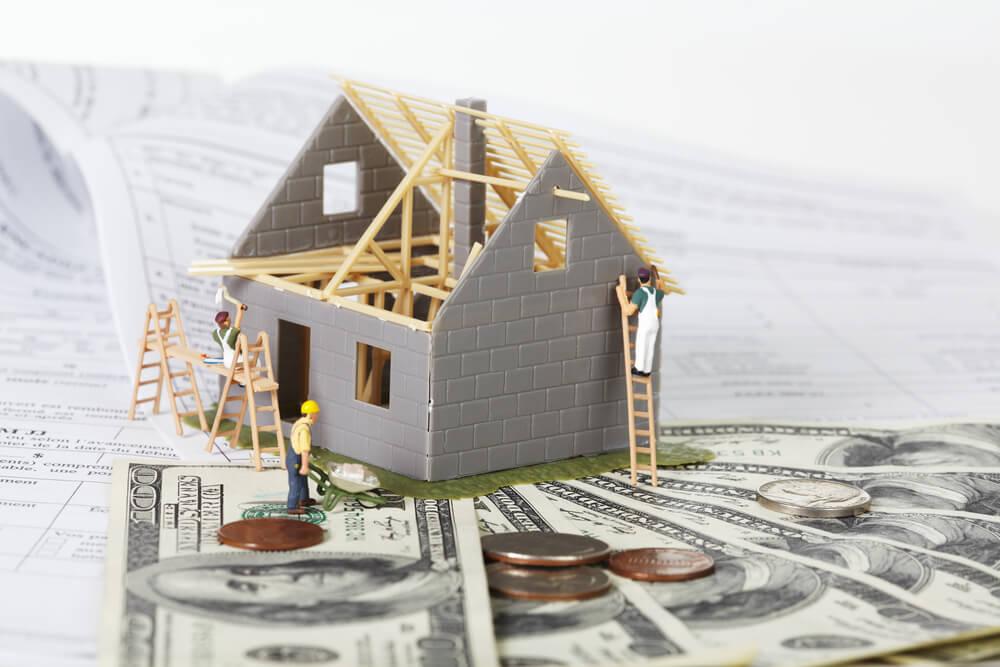 Dom rodzinny w budowie