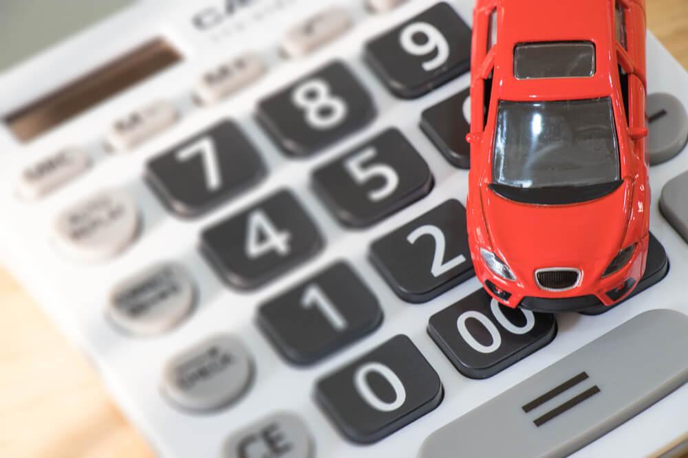 Samochodzik na kalkulatorze