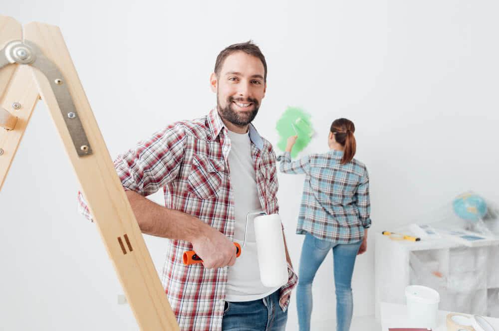 Para robi remont dzięki kredytowi