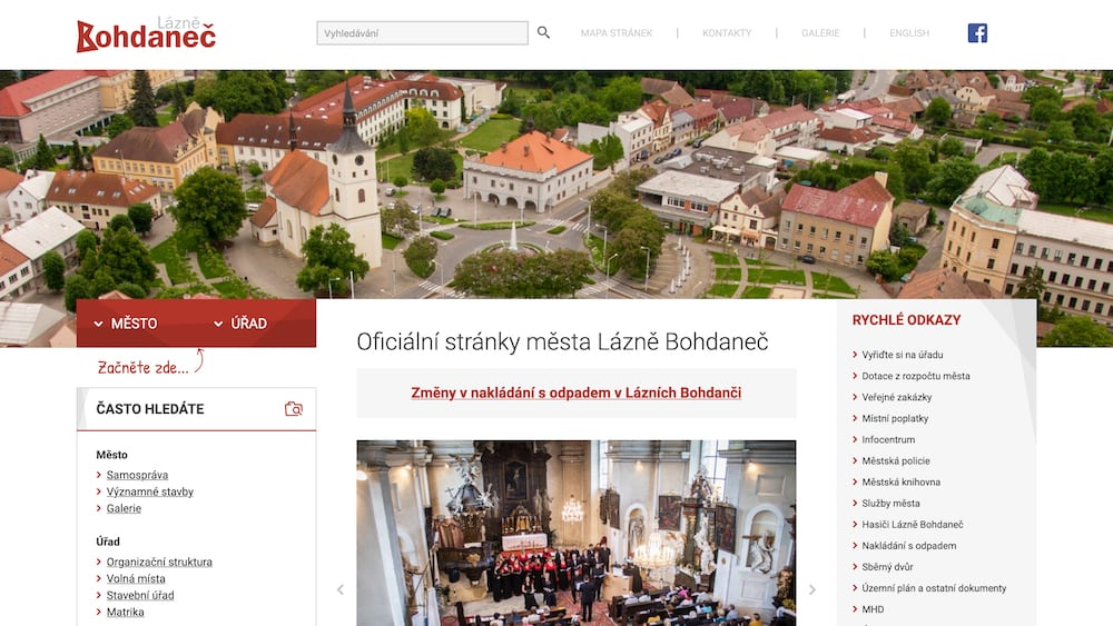 Město Lázně Bohdaneč