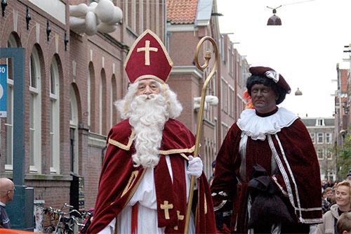 Sinterklaas och Zwarte Piet