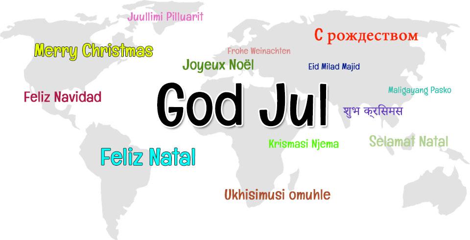 God Jul - på världens alla språk