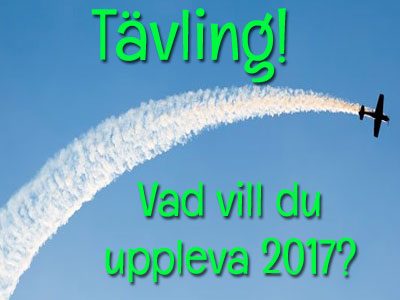 Tavling upplevelsepresent 2017