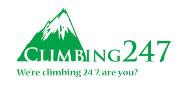 Climbing247 logo