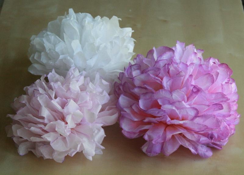 Jak Zrobic Roze Z Bibuly Marszczonej How To Make A Tissue Paper Rose Youtube