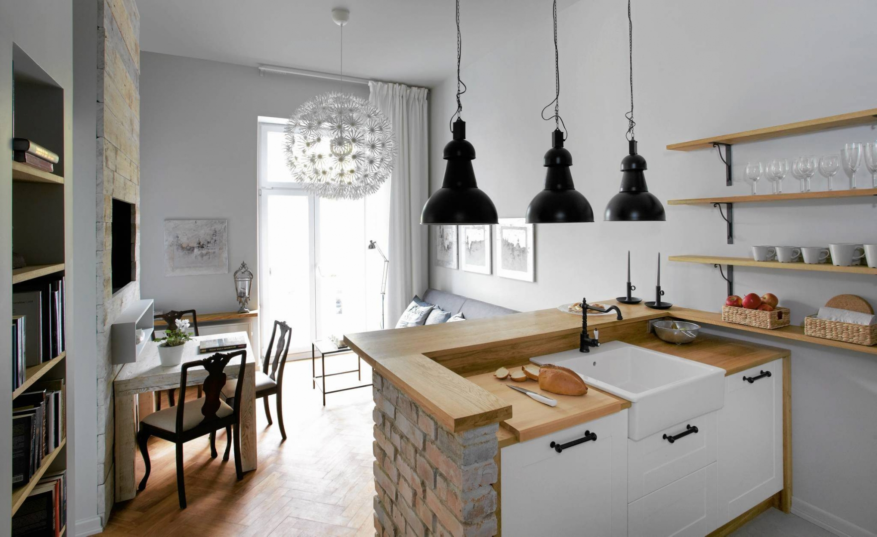 Salon Połączony Z Kuchnią 15 Pomysłów Na Aranżację ładny Dom