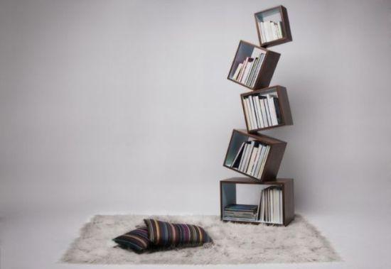 Oryginalne Półki Z Książkami