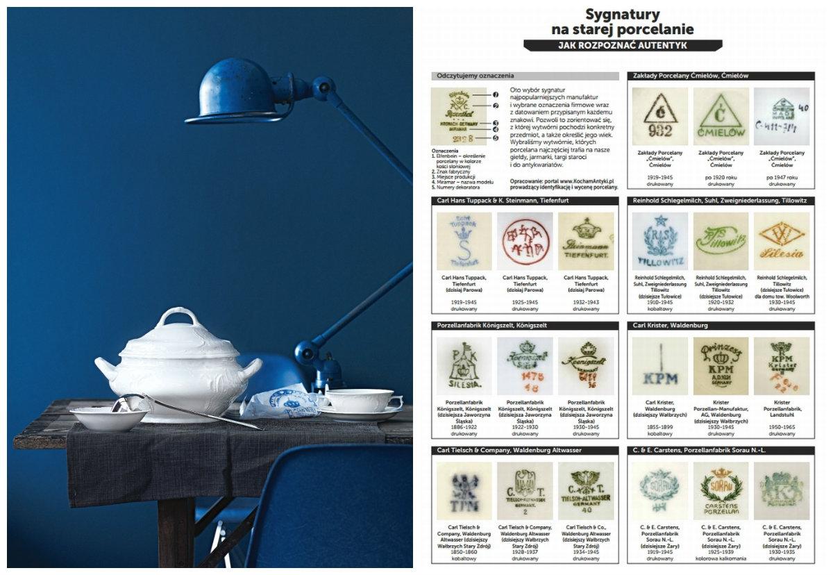 datowanie limoges porcelanowe znaki