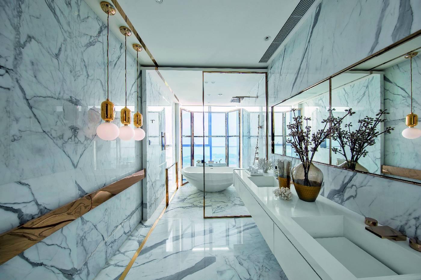 Marmur We Wnętrzach ładny Dom