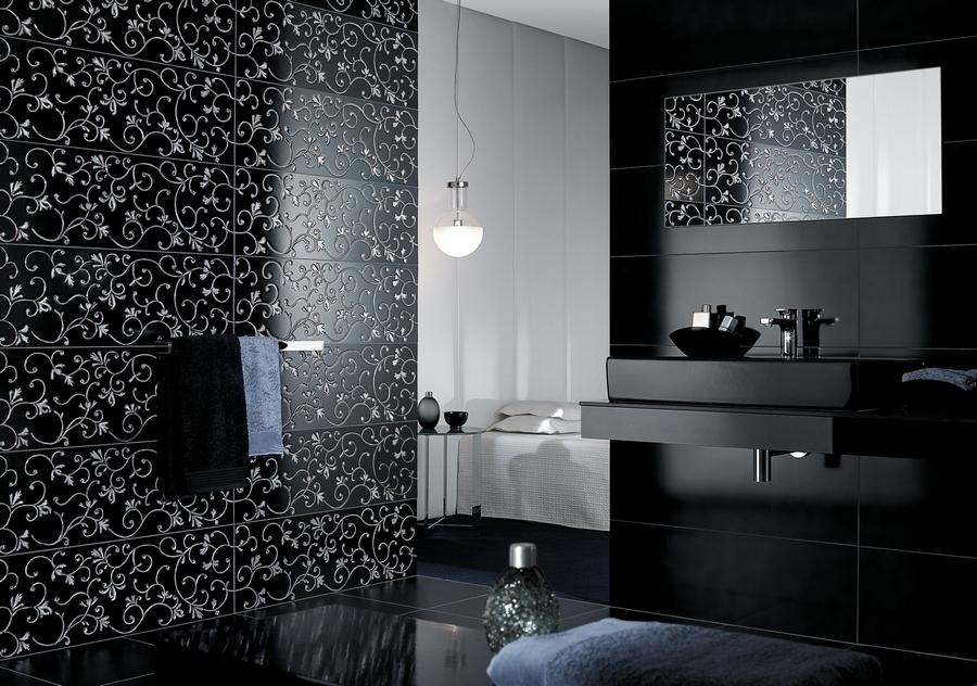 Trend Czarna łazienka Pomysł Na Aranżację Z Charakterem