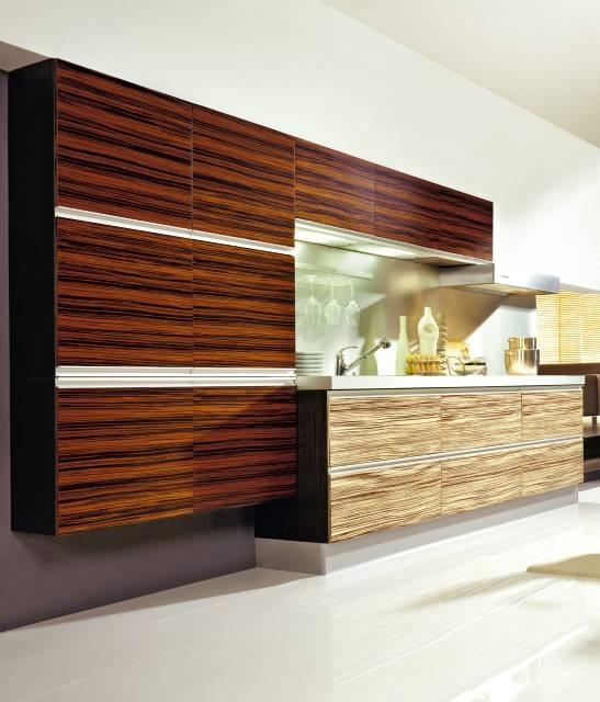 Kuchnie Z Egzotycznego Drewna