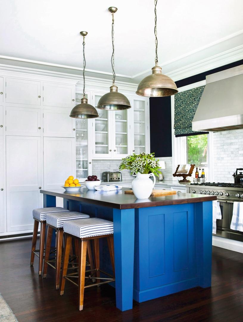 Moda Na Kolor Granatowy W Kuchni ładny Dom
