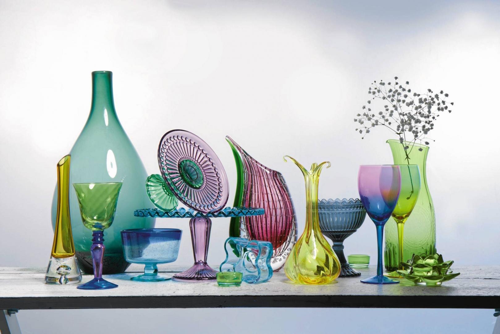 Wzornictwo Kolorowe Szkło ładny Dom
