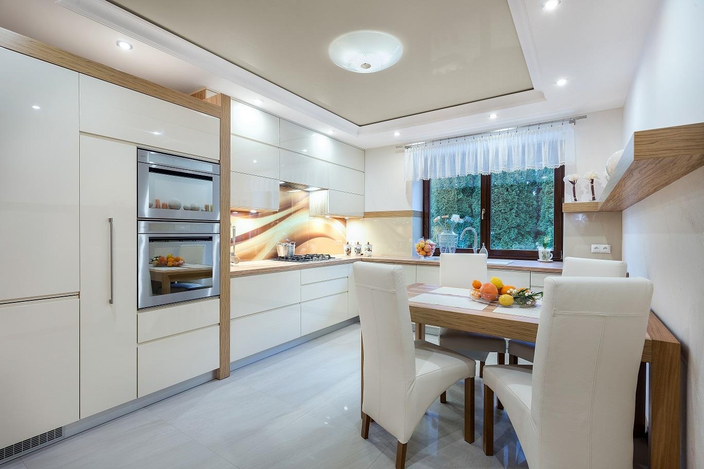 Stylowa Kuchnia Dla Całej Rodziny ładny Dom