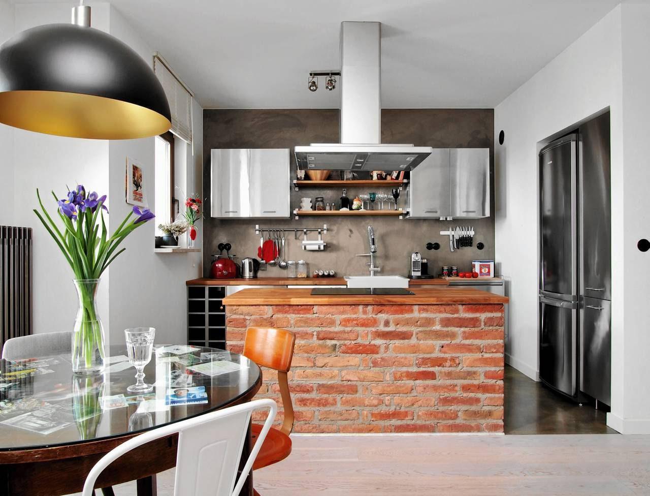Murowane Szafki Sposób Na Niepowtarzalną Kuchnię ładny Dom