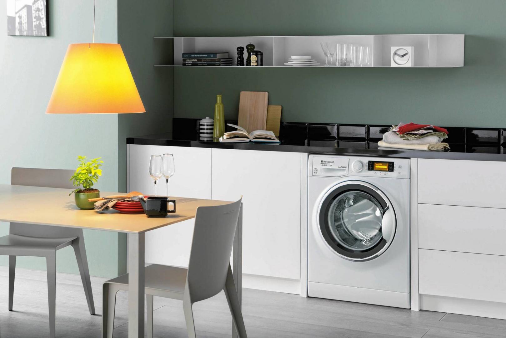 Стиральная машина на кухне: учимся использовать свободную площадь рационально