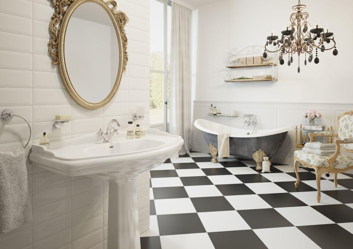 Aranżacja łazienki W Stylu Francuskim ładny Dom