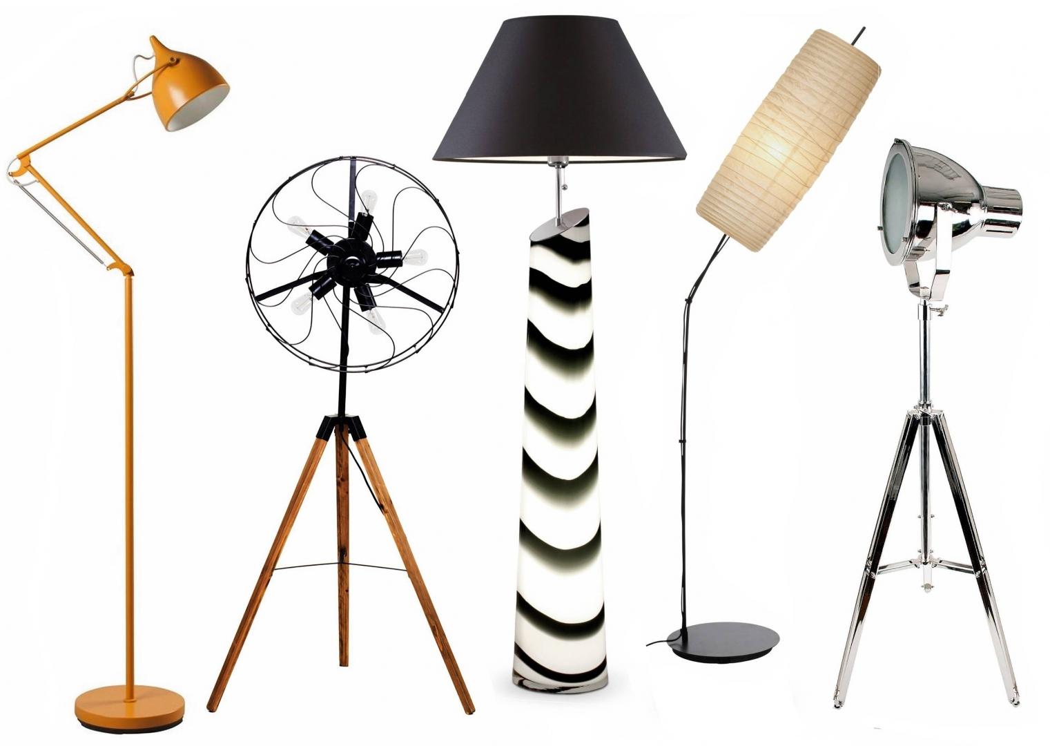 lampy stojące do małych pomieszczen