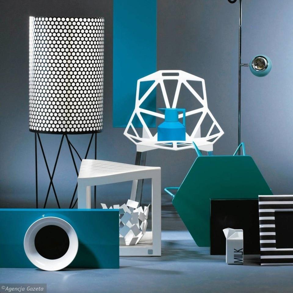 Dekoracje Lekcja Geometrii Meble I Akcesoria ładny Dom
