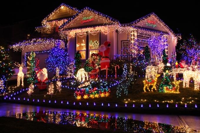Zewnętrzne Oświetlenie świąteczne