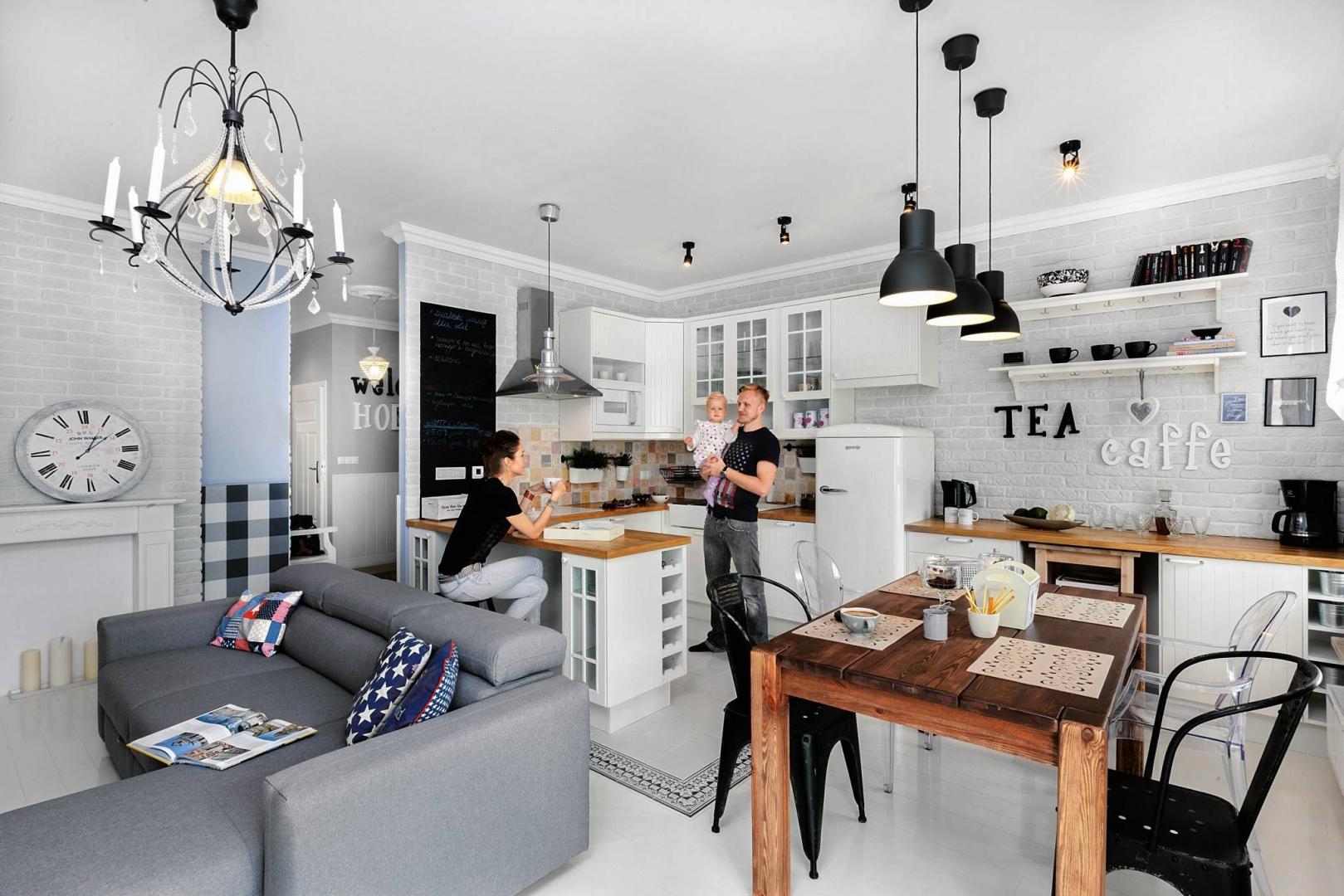 Kuchnia Otwarta Na Pokój Przegląd Waszych Wnętrz ładny Dom