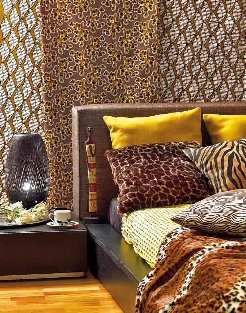Afrykańskie Dekoracje ładny Dom