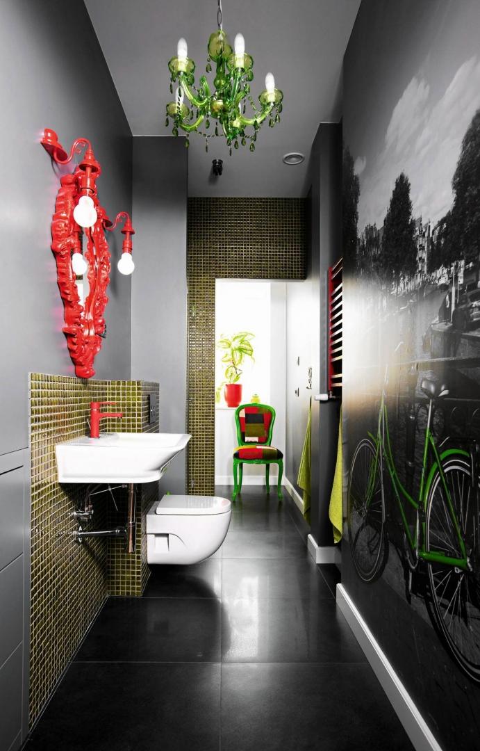 łazienka Mozaika I Fototapeta