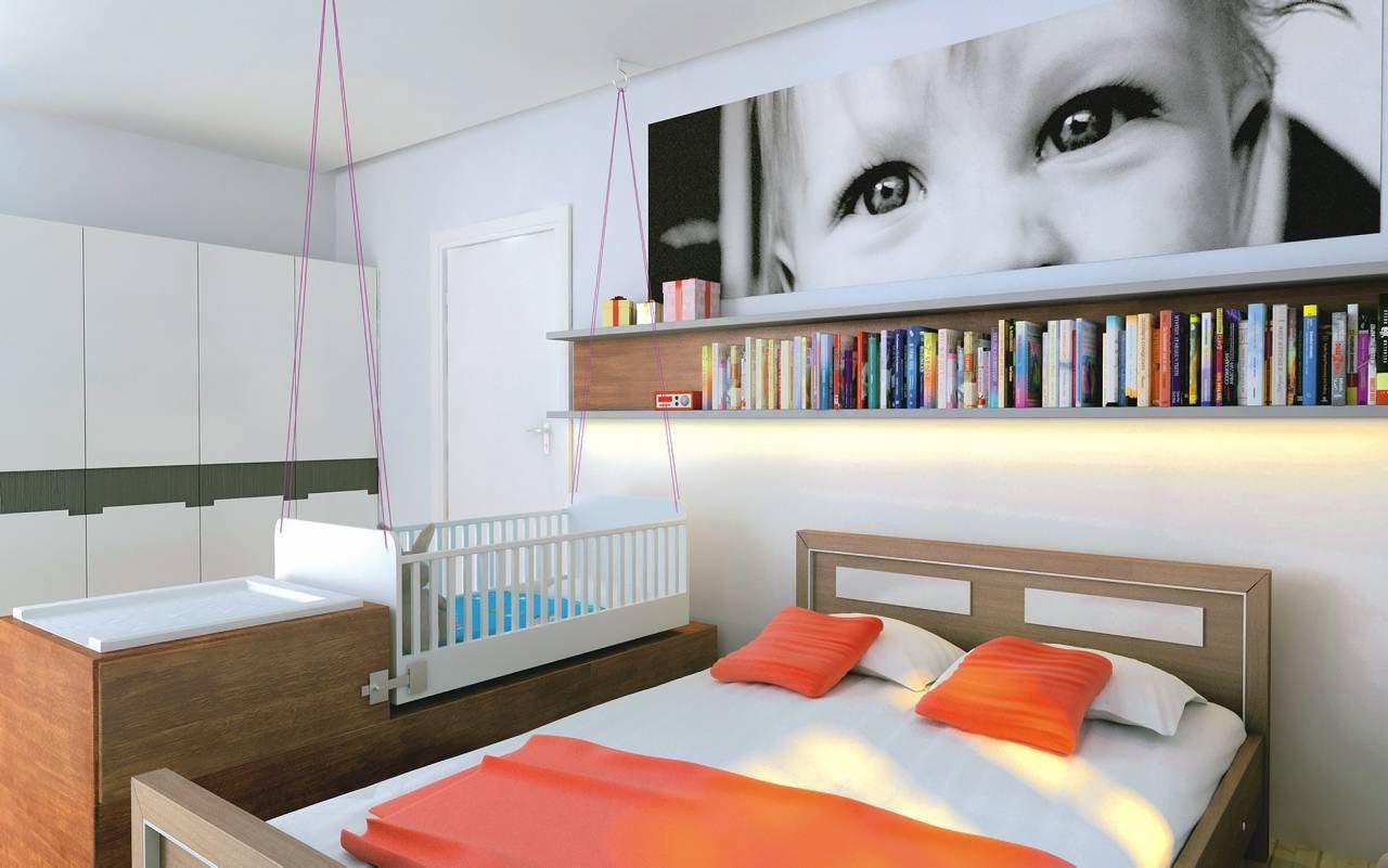 Sypialnia Dla Trojga ładny Dom