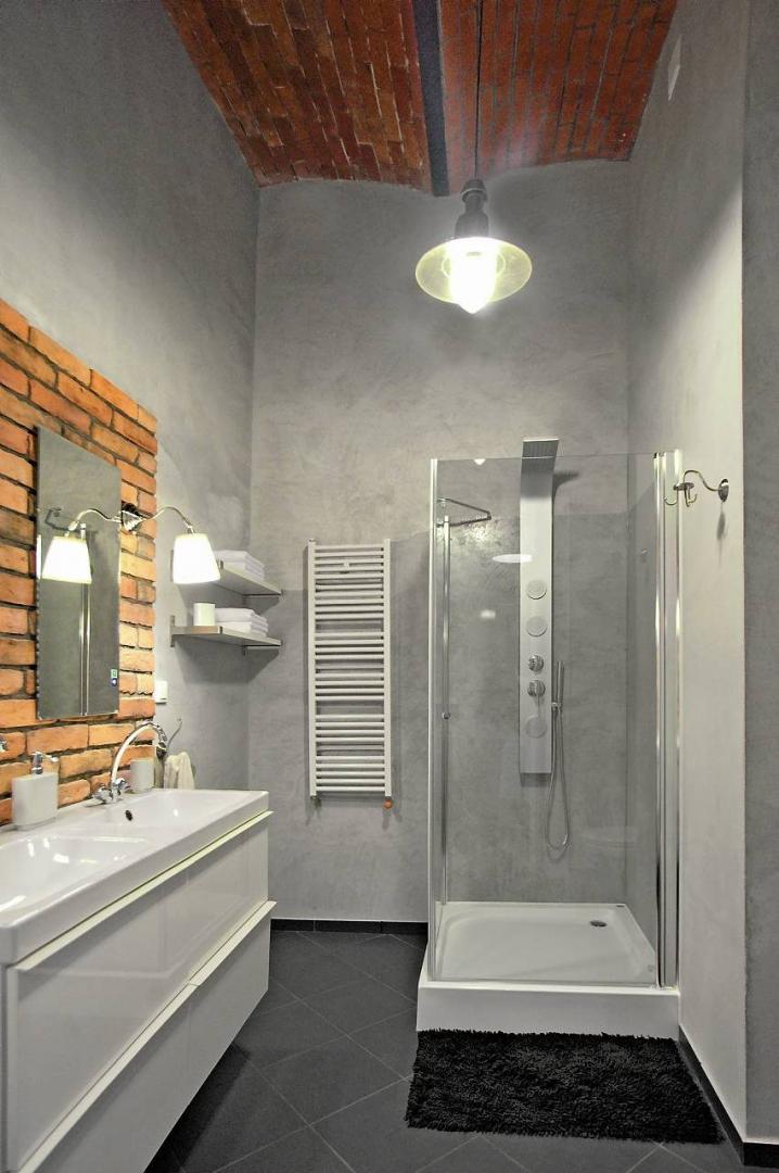 ściany W łazience Modne Wykończenia ładny Dom